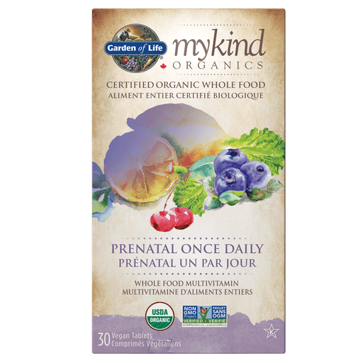 Garden Of Life mykind Organics Prenatal Once Daily 30 Tablets