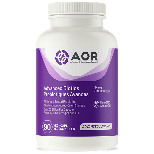 AOR Advanced Biotics 90 Capsules