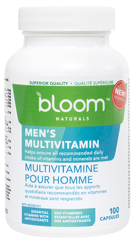 Bloom Naturals Men's Multivitamin 100 Capsules