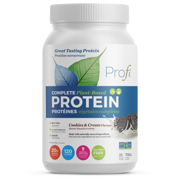 Profi Vegan Protein Powder Cookies & Cream 700 g