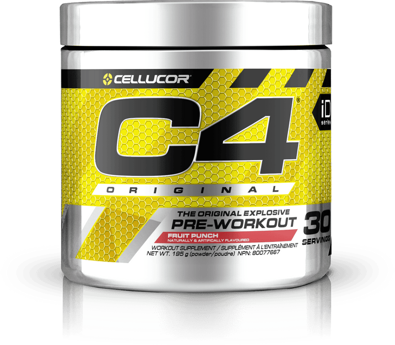 Cellucor C4 Original Pre-Workout Fruit Punch 195 g