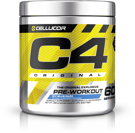 Cellucor C4 Original Pre-Workout Icy Blue Razz 390 g