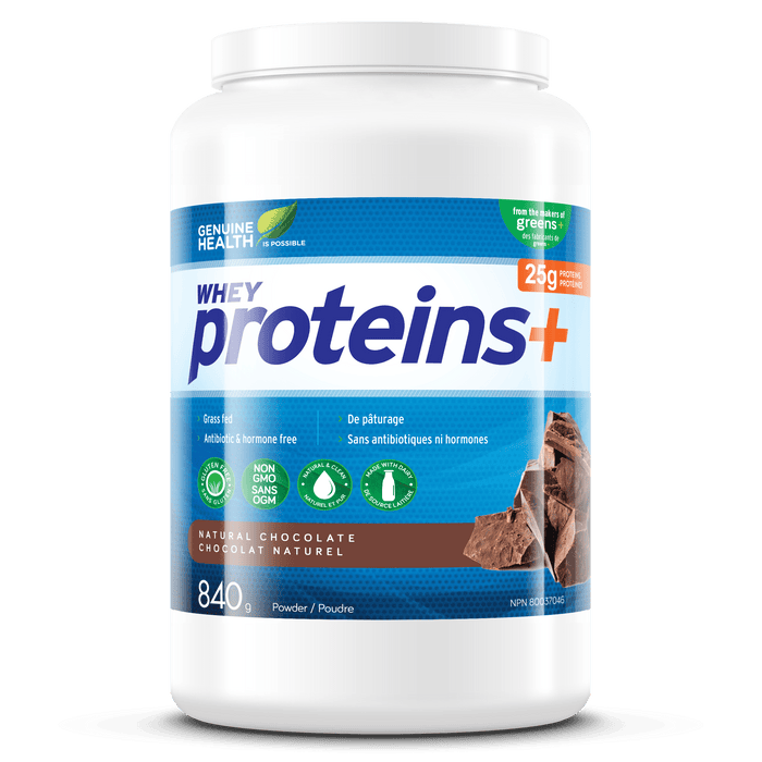 Genuine Health Proteins+ Natural Chocolate 840 g