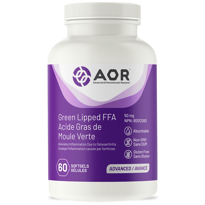 AOR Green Lipped FFA 60 Softgels