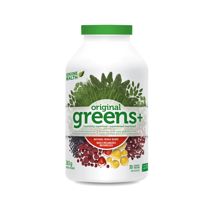 Genuine Health Greens+ Natural Mixed Berry