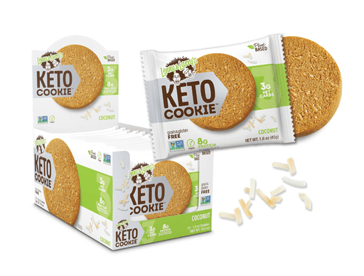 Lenny & Larry's Keto Cookie Coconut 12x1.6 oz Cookies