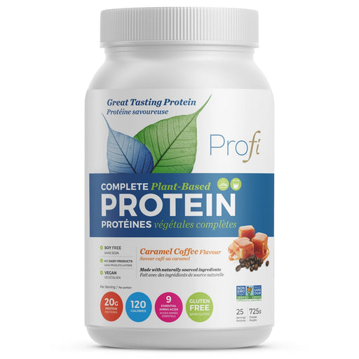 Profi Vegan Protein Powder Caramel Coffee 725 g