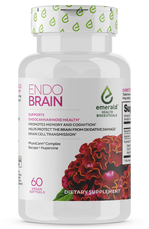 Emerald Health Endo Brain 60 Softgels