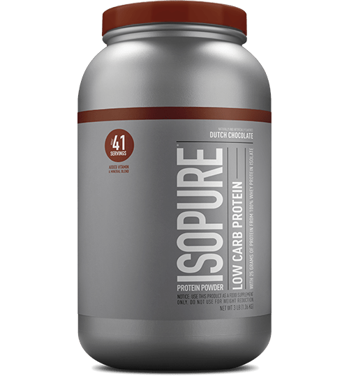 ISOPURE Low Carb Dutch Chocolate, Whey Protein