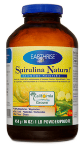 Earthrise Spirulina Natural Powder 454 g