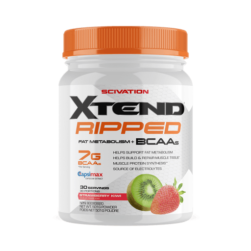 Scivation Xtend Ripped BCAAs Strawberry Kiwi 30 Servings