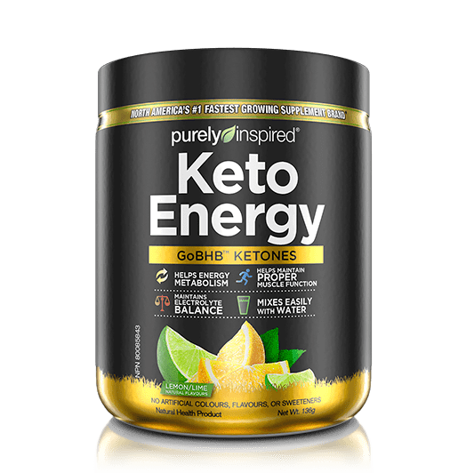 Purely Inspired Keto Energy Lemon Flavour 136 g