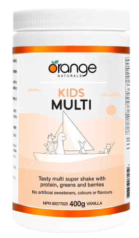 Orange Naturals Kids Multi 400 g Vanilla Flavour