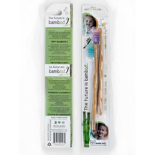 The Future Is Bamboo Kids Soft Bristle Tooth Brush