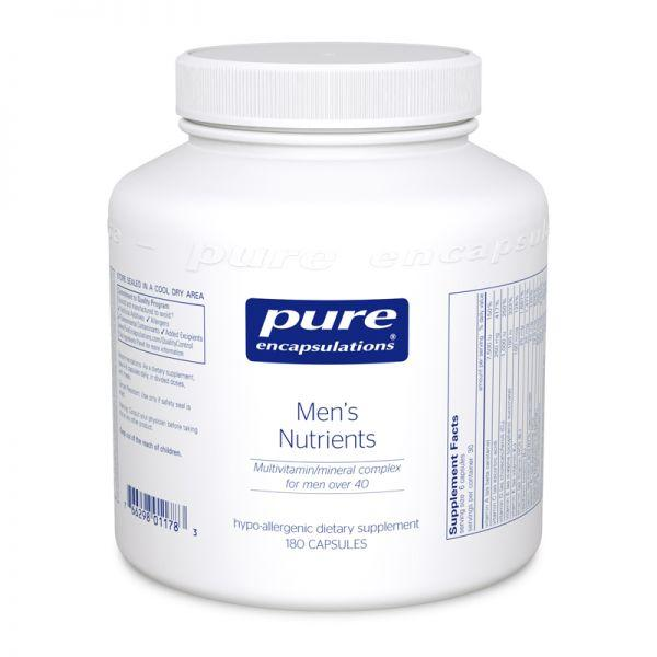 Pure Encapsulations Men's Nutrients 180 capules