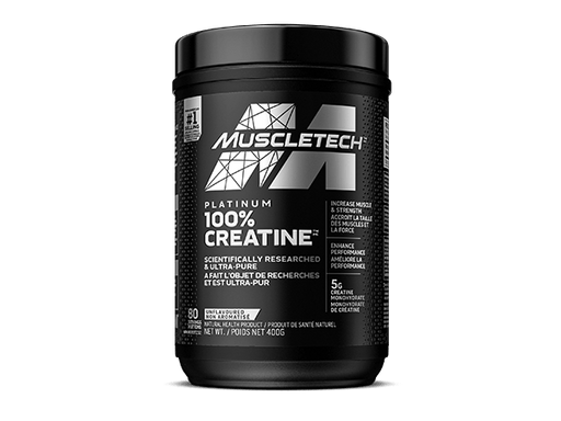 MuscleTech Platinum 100% Creatine  Unflavoured 400 g