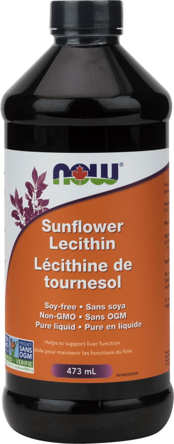 NOW Sunflower Lecithin 473 ml