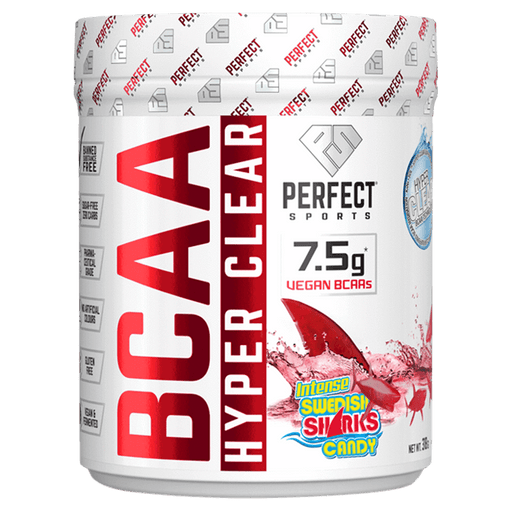 Perfect Sports BCAA Hyper Clear - Intense Swedish Sharks Candy 318 g