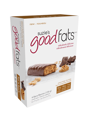 Suzie's Good Fats Peanut Butter Chocolatey (Box of 4)