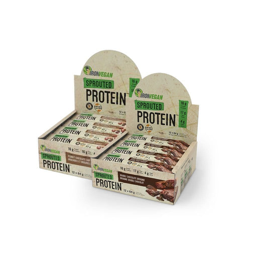 Bundle Deal: 2 x Iron Vegan Sprouted Protein Bar (Save $10)