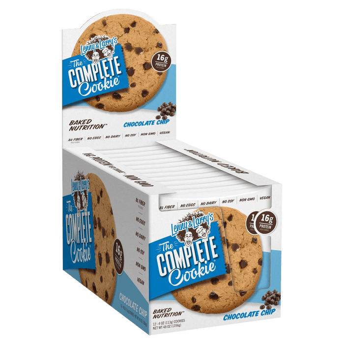 Lenny & Larry's The Complete Cookie Chocolate Chip Box of 12 - 113 g Cookies