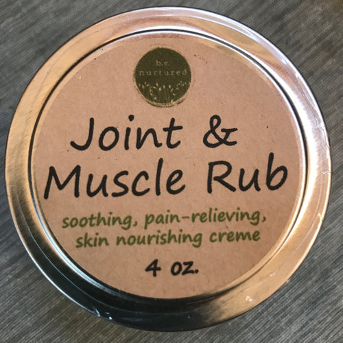 ~joint and muscle rub~
