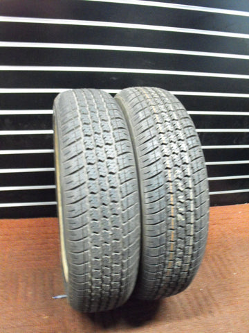 Aurora Radial H710 - Used Tire Pair 9-10/32 Tread 185/75R14