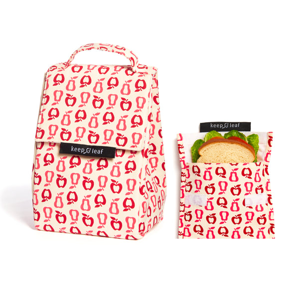 Lunch Bag and Reusable Sandwich Bag