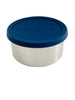 Stainless Steel Containers Set of 4 - 50ml, 220ml, 400ml, 680ml | Navy