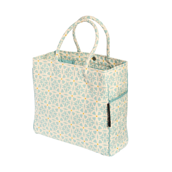 CARRY ALL TOTE / BEACH BAG GEO - ORGANIC
