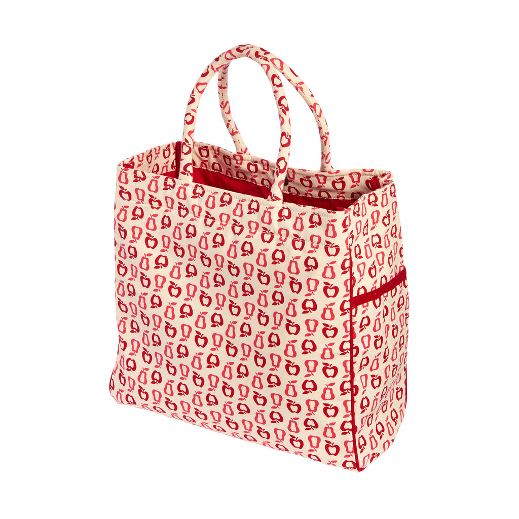 CARRY ALL TOTE / BEACH BAG NEW FRUITS - ORGANIC