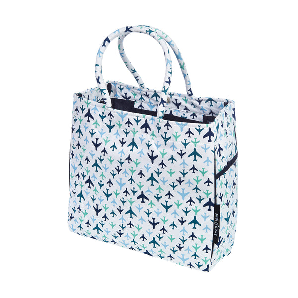 CARRY ALL TOTE / BEACH BAG PLANES - ORGANIC