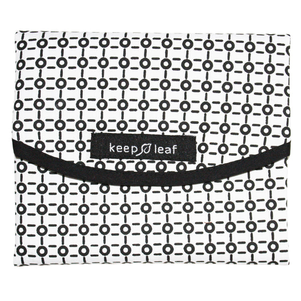 REUSABLE FOOD WRAP B/W