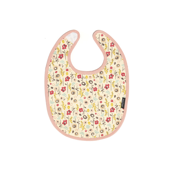 REVERSIBLE BABY BIB BLOOM