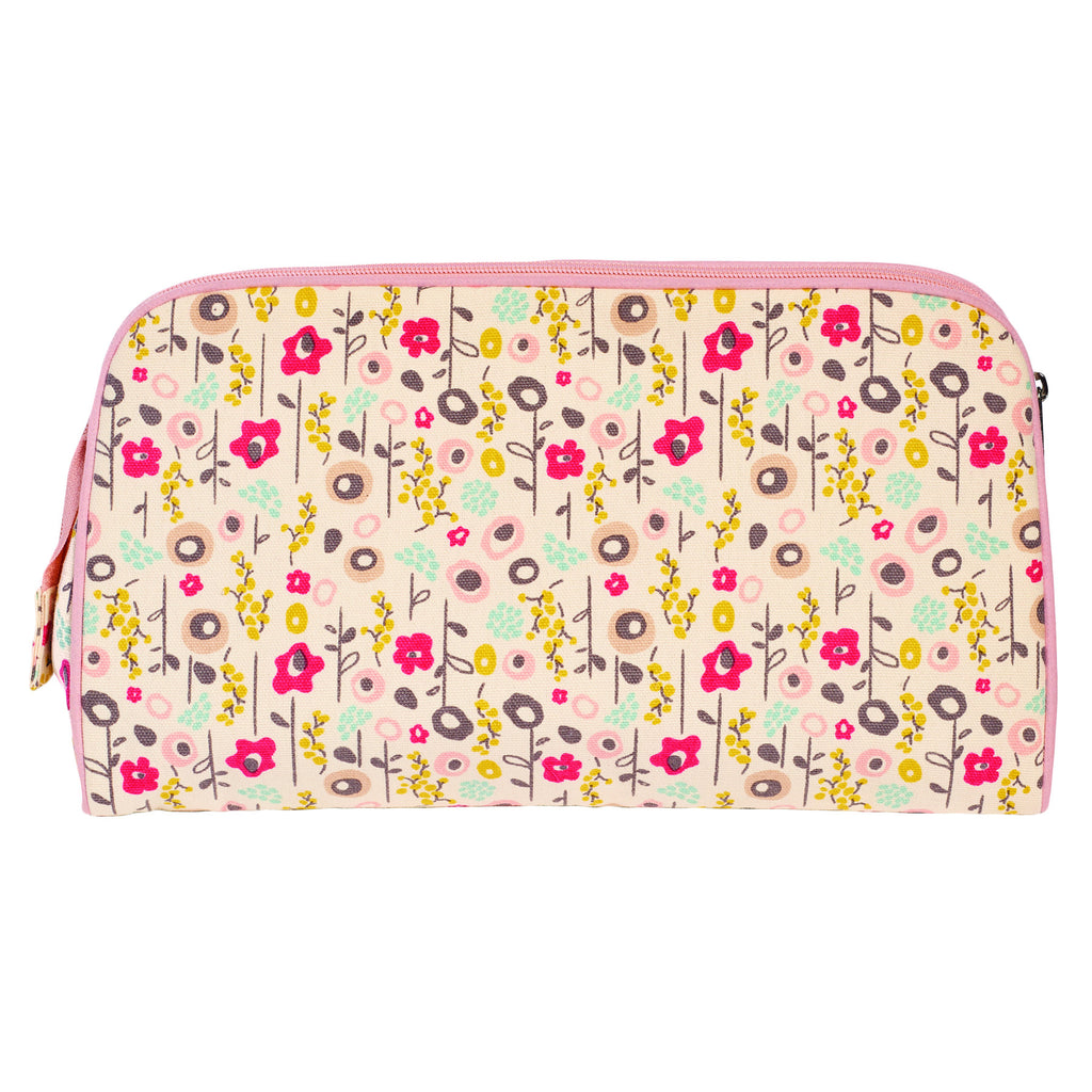 TOILETRY BAG/DIAPER CLUTCH BLOOM - ORGANIC