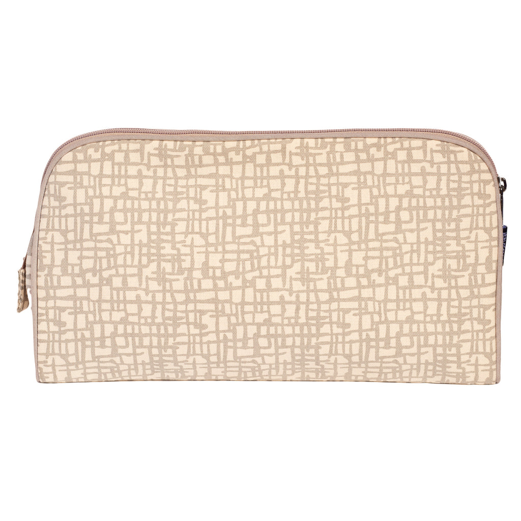 TOILETRY BAG/DIAPER CLUTCH MESH - ORGANIC