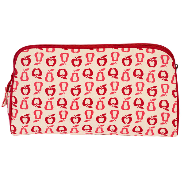 TOILETRY BAG/DIAPER CLUTCH NEW FRUITS - ORGANIC