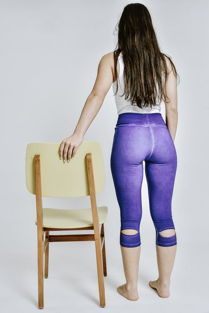 Heron leggings INDIGO