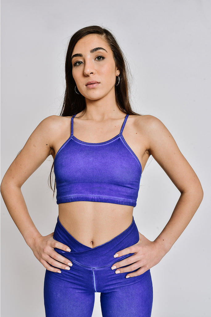 Copy of Osprey crop top INDIGO