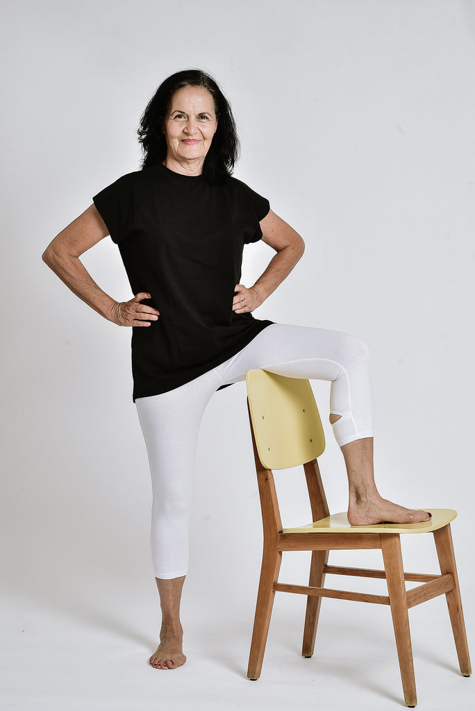Heron leggings PURE WHITE