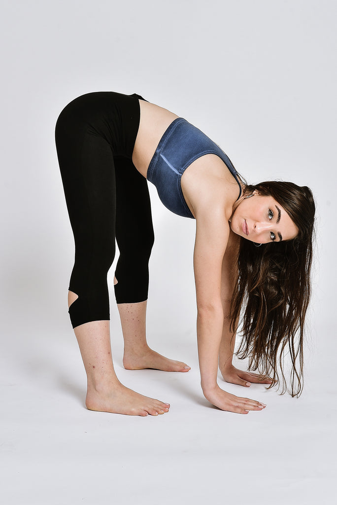 Heron leggings BLACK