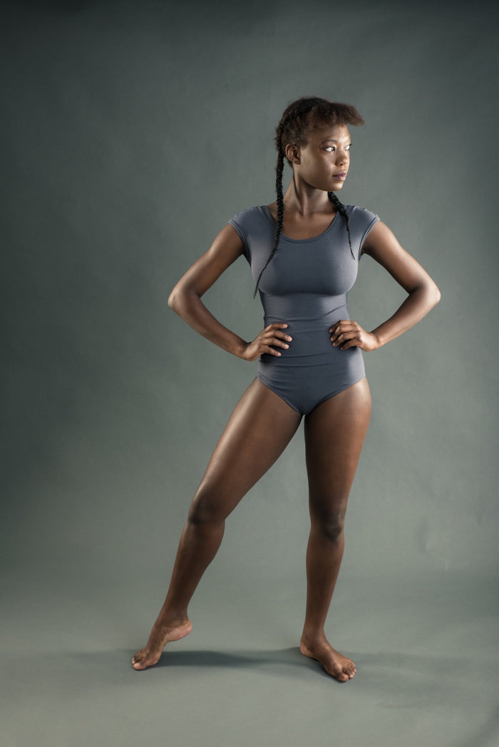 EKA GREY Yoga Leotard