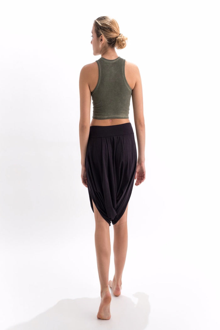 CATVAARI CROP TOP- NATURAL WEAR FOR YOGA ACTIVITY