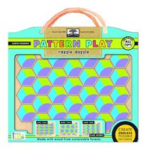 Green Start - Pattern Play Wooden Puzzle - Lil' Sprout
