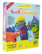 Creativity for Kids -  My First Sock Puppets - Lil' Sprout