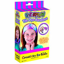 Creativity for Kids - E-Z Spray Tie Dye Bandana - Lil' Sprout