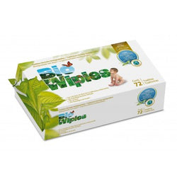 Bio Baby Biodegradable Eco Disposable Wet-Wipes 72's - Lil' Sprout