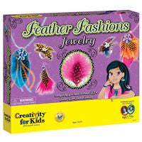 Creativity for Kids - Feather Fashions Jewelry - Lil' Sprout