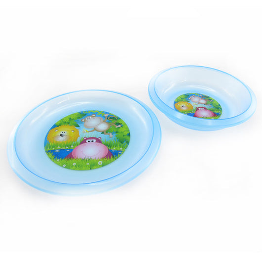 Snookums - Bowl & Plate Set