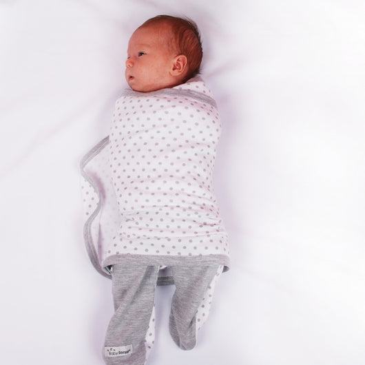Baby Sense - Cuddlegrow Swaddle with Legs - Lil' Sprout